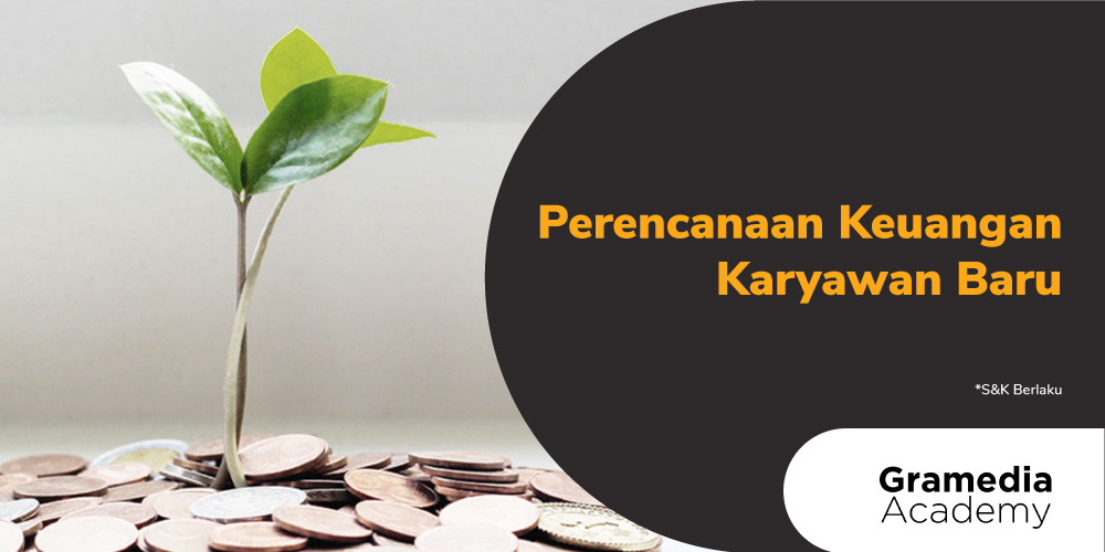 Gambar promo Perencanaan Keuangan Karyawan Baru dari Gramedia Academy